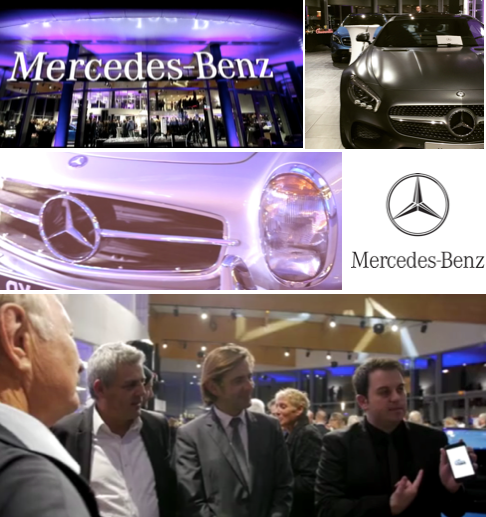 Magie Close up Inauguration Mercedes